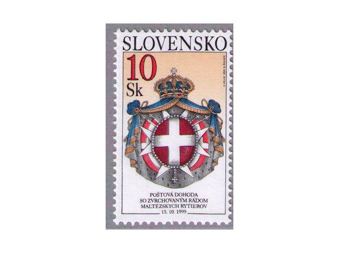 SR 2000 / 220 / Poštová dohoda so Zvrchovaným rádom maltézskych rytierov