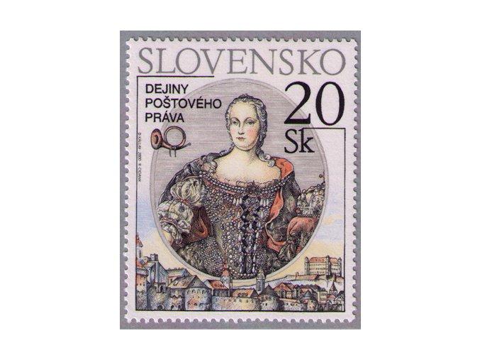 SR 2000 / 224 / Dejiny poštového práva