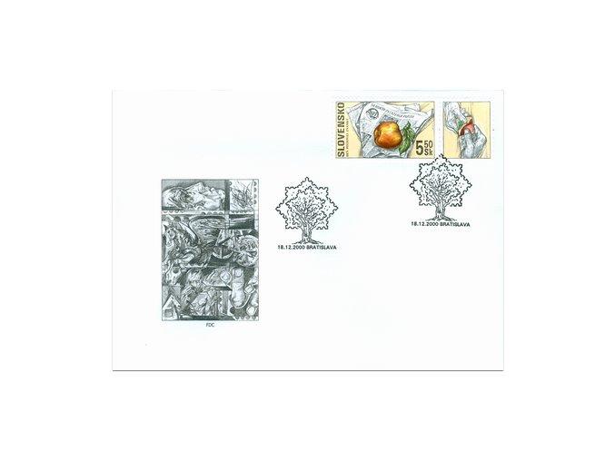 SR 2000 / 223 / Deň poštovej známky FDC