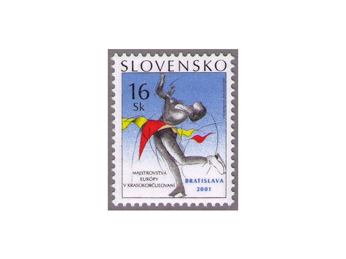 SR 2001 / 227 / ME v krasokorčuľovaní, Bratislava