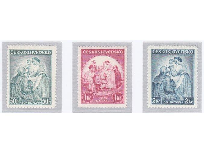 ČSR I 1936 / 295-297 / Deťom **