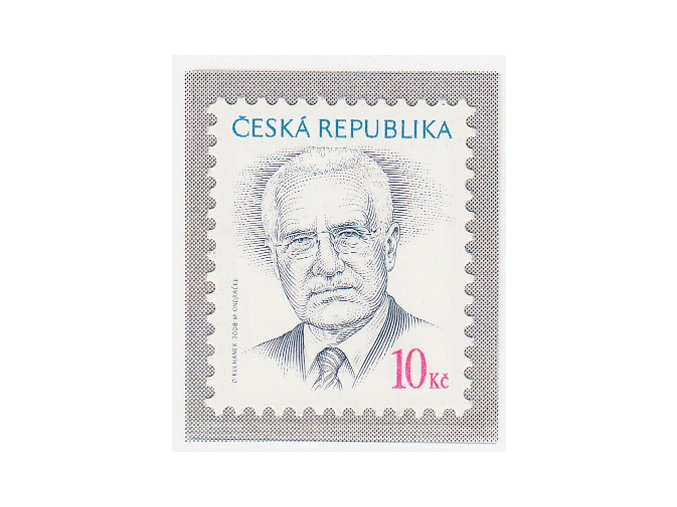 ČR 555 Prezident ČR Václav Klaus