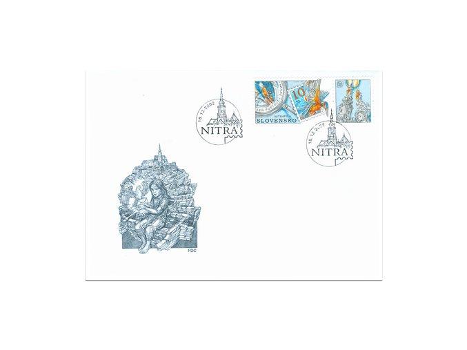 SR 2002 / 283 Deň poštovej známky FDC