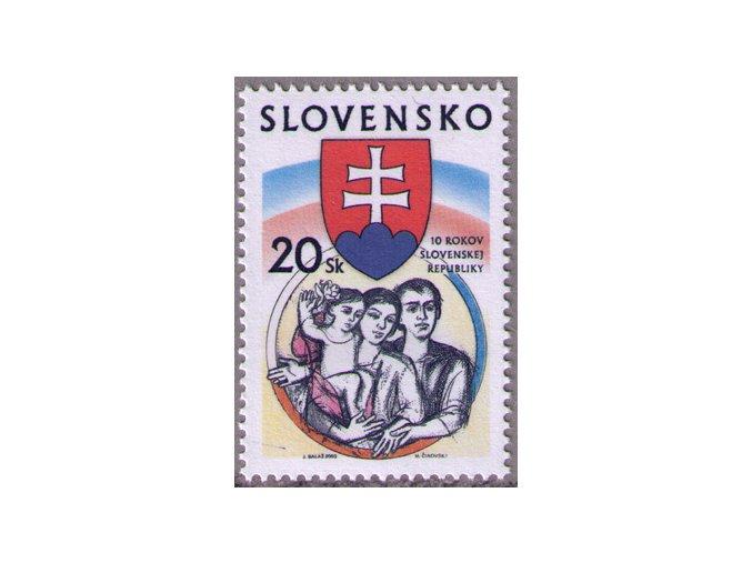 SR 2003 / 284 / 10 rokov Slovenskej republiky