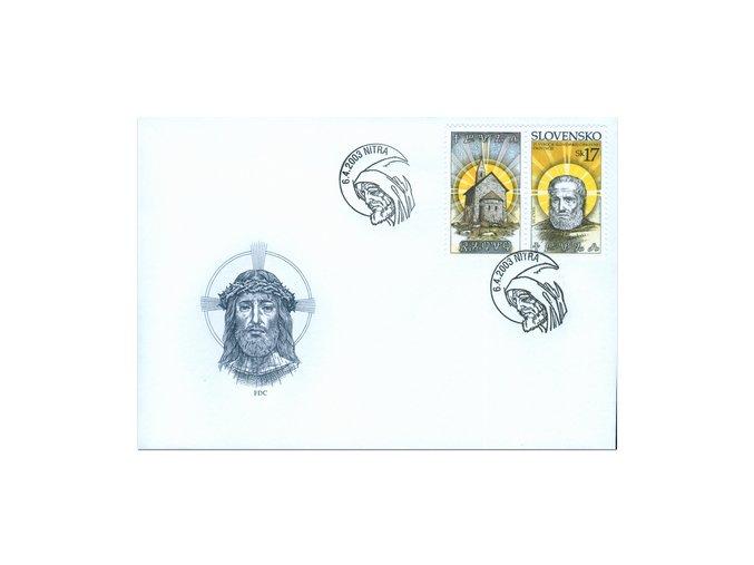 SR 2003 / 289-290 H / 25. výročie Slovenskej cirkevnej provincie / FDC (2)