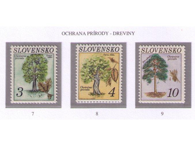 SR 1993 / 007-009 / Ochrana prírody - stromy