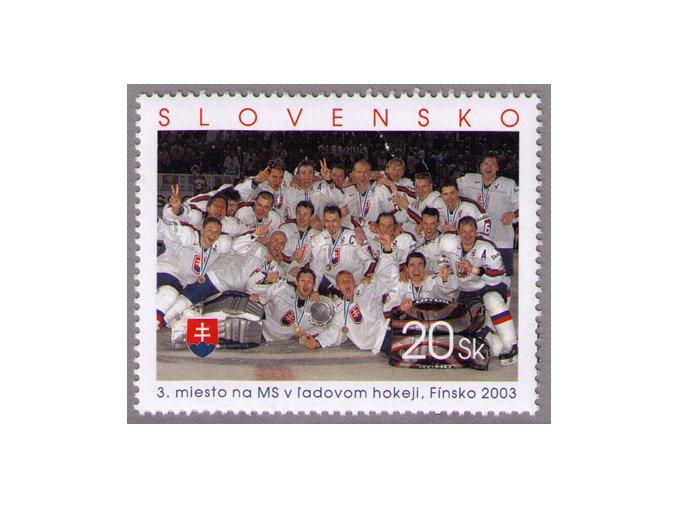 SR 2003 / 297 / 3. miesto na MS v ľadovom hokeji, Fínsko