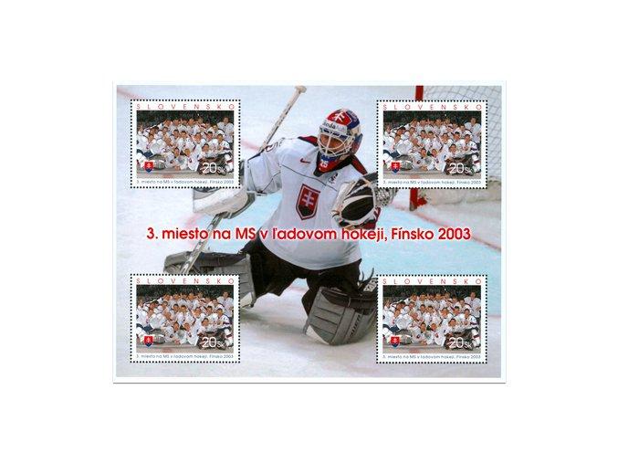 SR 2003 / 297 / 3. miesto na MS v ľadovom hokeji, Fínsko PL