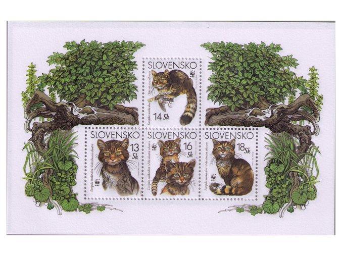 SR 2003 / 299-302 H / Ochrana prírody - Európska mačka divá