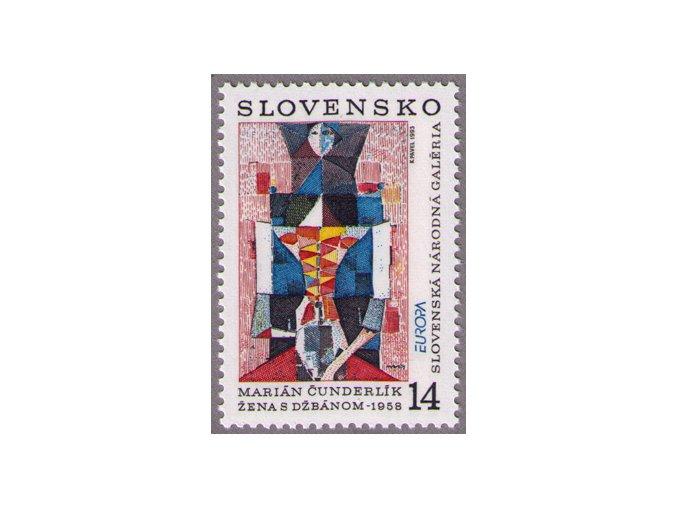 SR 1993 / 013 / EUROPA - moderné umenie