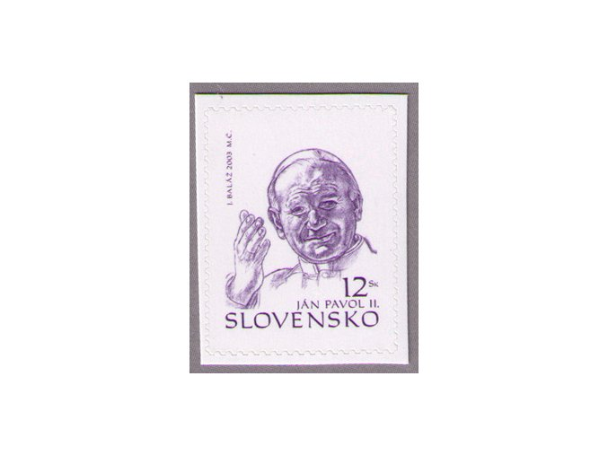 SR 2003 / 307 / Pápež Ján Pavol II.