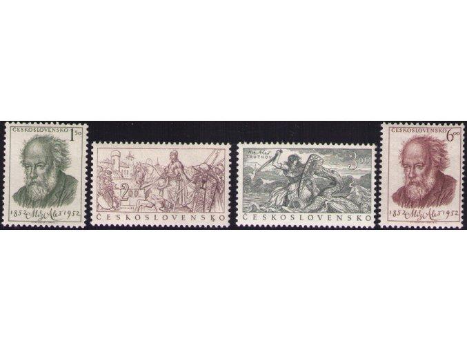 ČS 1952 / 0679-0682 / M. Aleš **