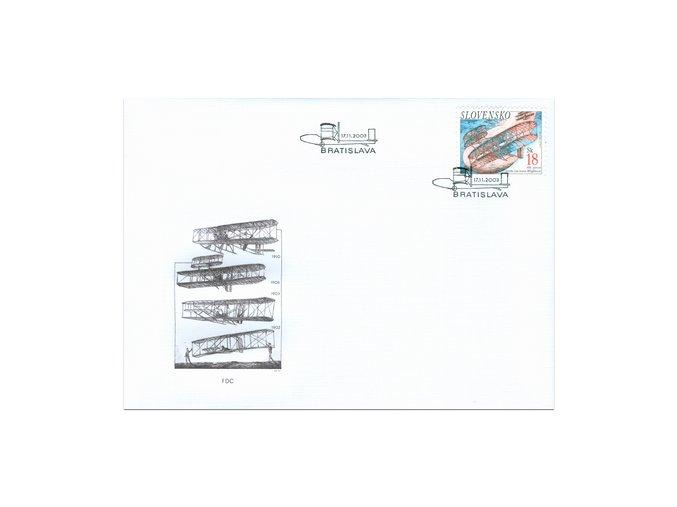 SR 2003 / 312 / 100. výročie letu bratov Wrightovcov FDC