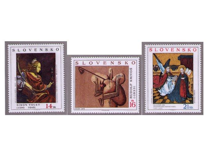SR 2003 / 313-315 / Umenie