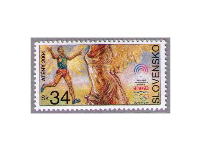 SR 2004 / 328 / LOH Atény, Paralympiáda
