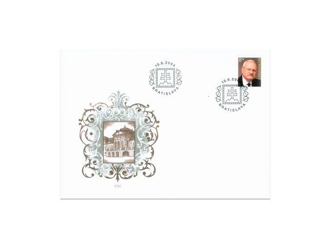 SR 2004 / 329 / Prezident SR Ivan Gašparovič / FDC