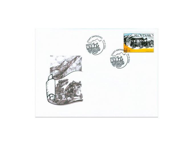 SR 2004 / 331-332 / Technické pamiatky / FDC (2)