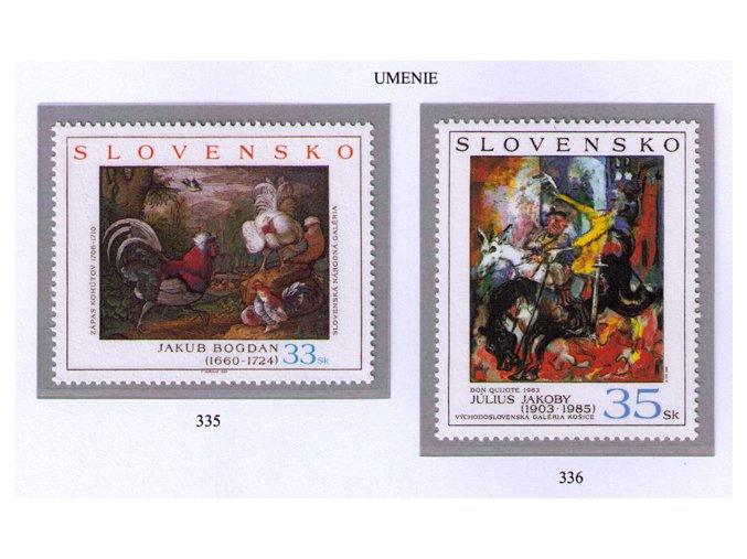 SR 2004 / 335-336 / Umenie