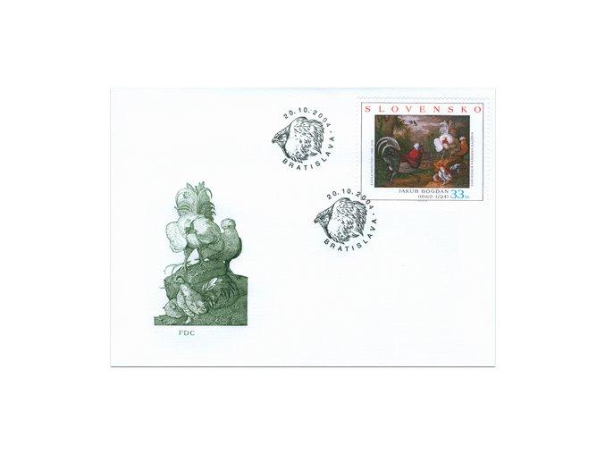 SR 2004 / 335-336 / Umenie / FDC (2)