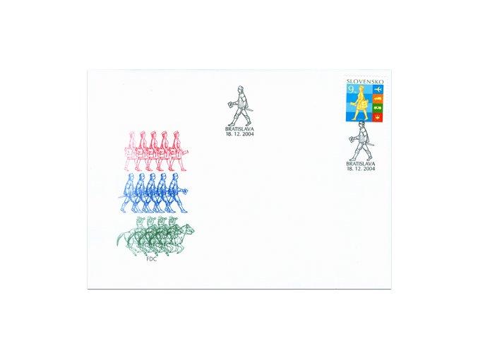 SR 2004 / 344 / Deň poštovej známky / FDC