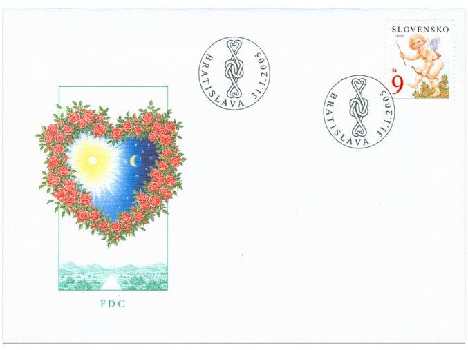 SR 2005 / 345 / Valentín FDC