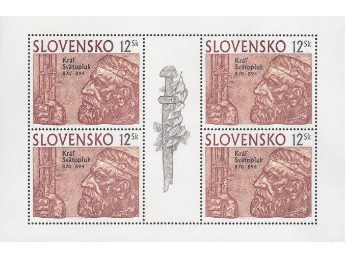 SR 1994 / 037 / Kráľ Svätopluk PL