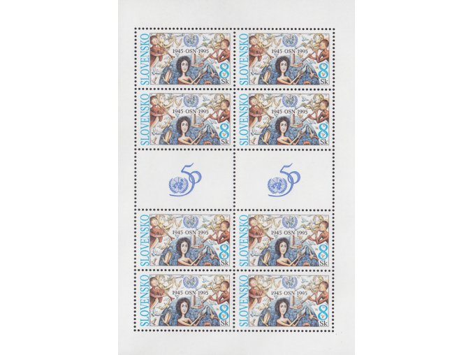 SR 1995 / 080 / 50. výročie založenia OSN PL
