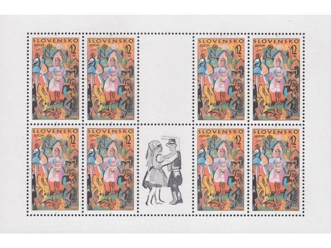 SR 1998 / 149 / EUROPA - Folklórne slávnosti PL
