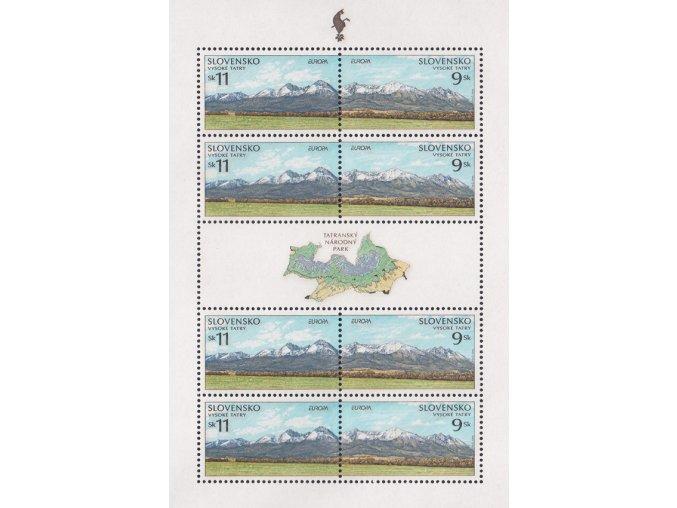 SR 1999 / 177-178 / EUROPA - Tatranský národný park PL