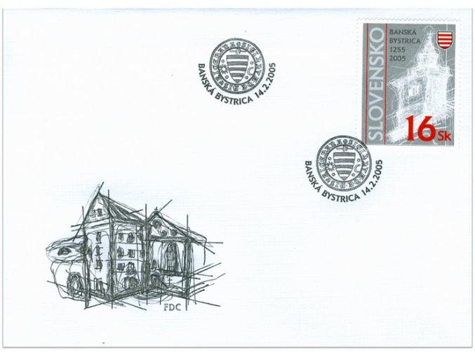 SR 2005 / 347 / 750. výročie Banskej Bystrice