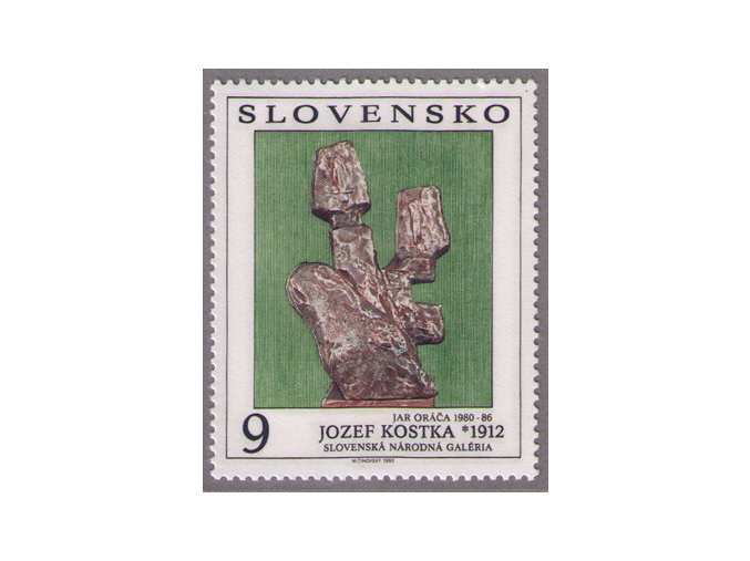 SR 1993 / 024 / Umenie - Jozef Kostka