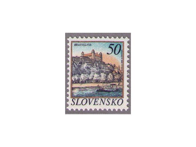 SR 1993 / 025 / Mestá - Bratislava