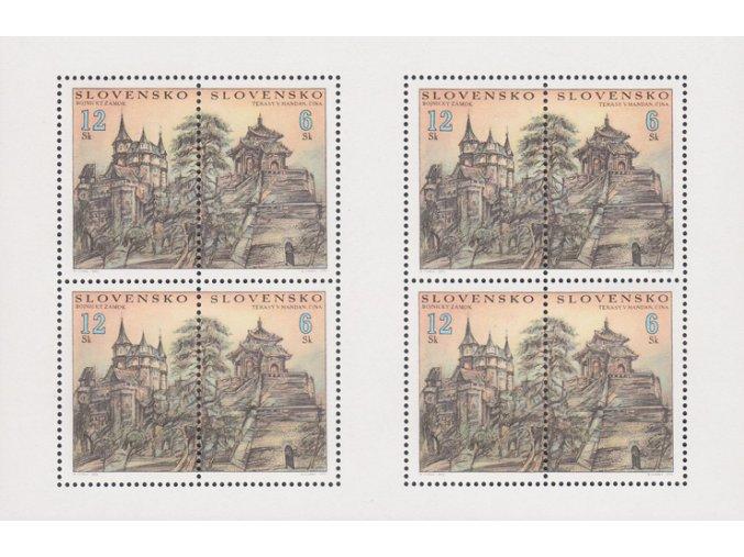 SR 2002 / 273-274 / Terasy v meste Handan a Bojnický zámok PL