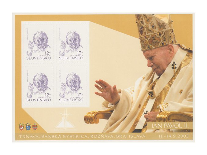SR 2003 / 307 / Pápež Ján Pavol II. PL