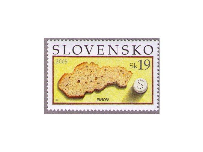 SR 2005 / 353 / EUROPA - Gastronómia