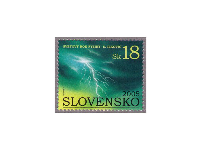 SR 2005 / 355 / Svetový rok fyziky - Dionýz Ilkovič