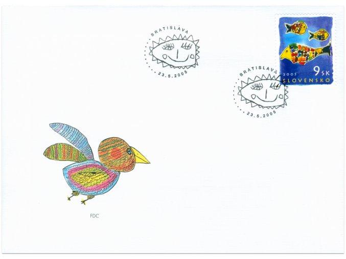 SR 2005 / 356 / Detská známka / FDC