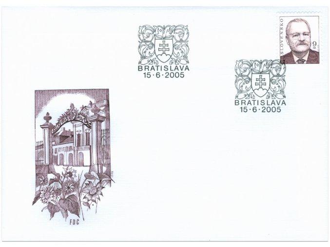 SR 2005 / 359 / Prezident SR Ivan Gašparovič / FDC