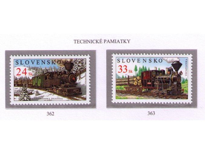 SR 2005 / 362-363 / Technické pamiatky - Parné rušne
