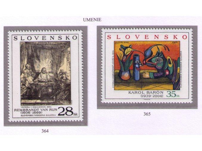SR 2005 / 364-365 / Umenie