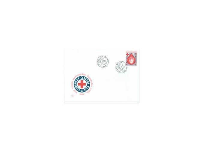 SR 1993 / 021 / Červený kríž FDC