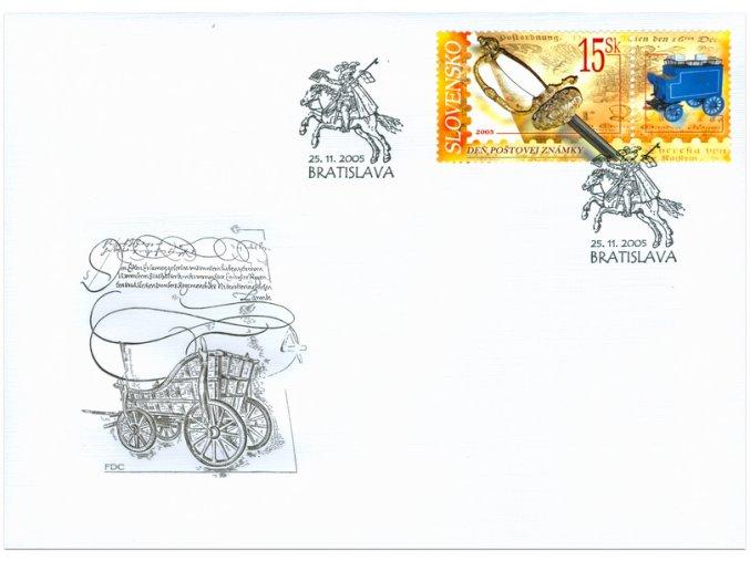 SR 2005 / 367 / Deň poštovej známky FDC