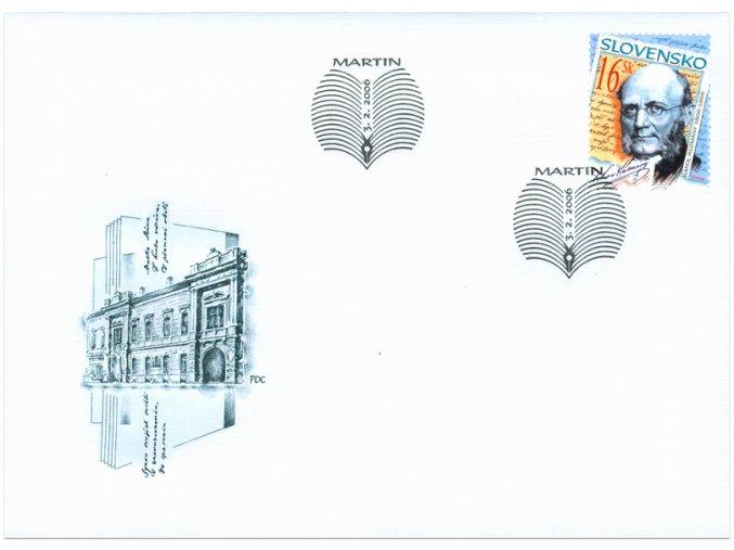 SR 2006 / 368 / Osobnosti - Karol Kuzmány FDC