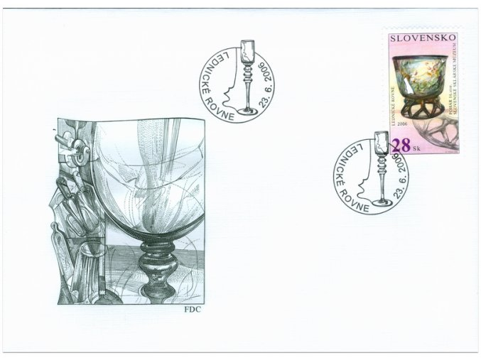SR 2006 / 381-382 / Technické pamiatky / FDC (2)