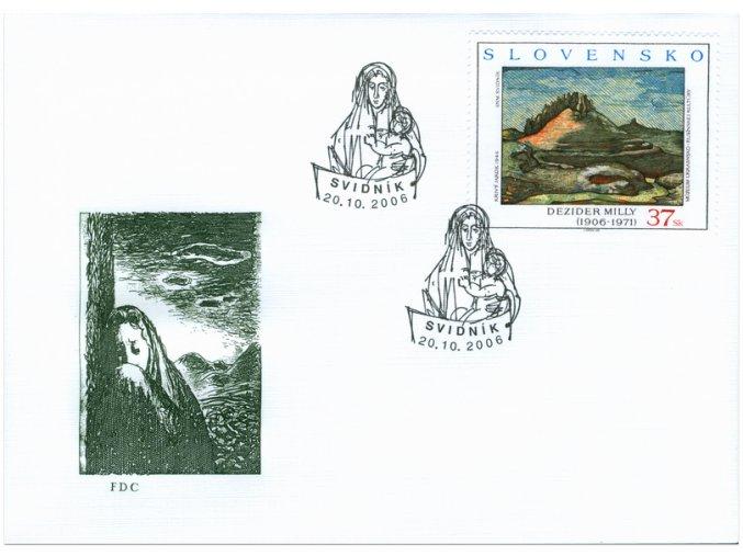 SR 2006 / 385-386 / Umenie / FDC (2)