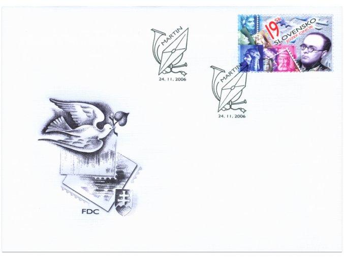 SR 2006 / 388 / Deň poštovej známky / FDC