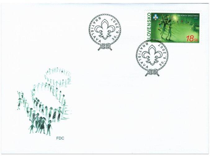 SR 2007 / 397 / EUROPA - skauting / FDC