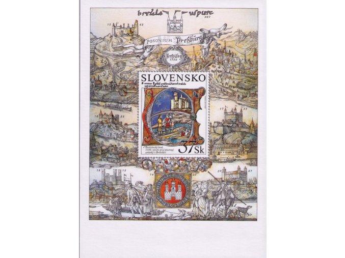 SR 2007 / 402 H / Bratislavský hrad
