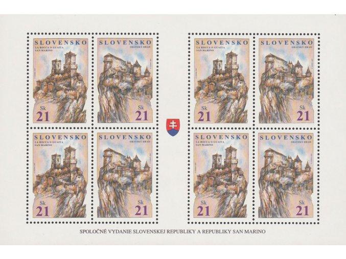SR 2007 / 403-404 / Oravský hrad, La Rocca Guaita / PL