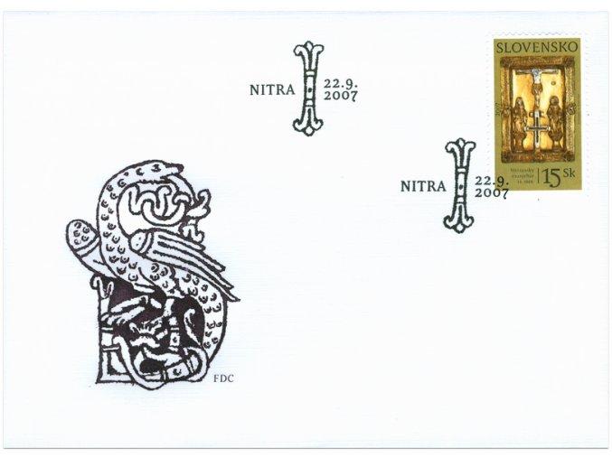 SR 2007 / 407 / Klenotnica múzeí / FDC
